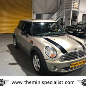 SOLD – 2008 Mini 'One' 1.4 Petrol with £2,620 of Extras – SOLD