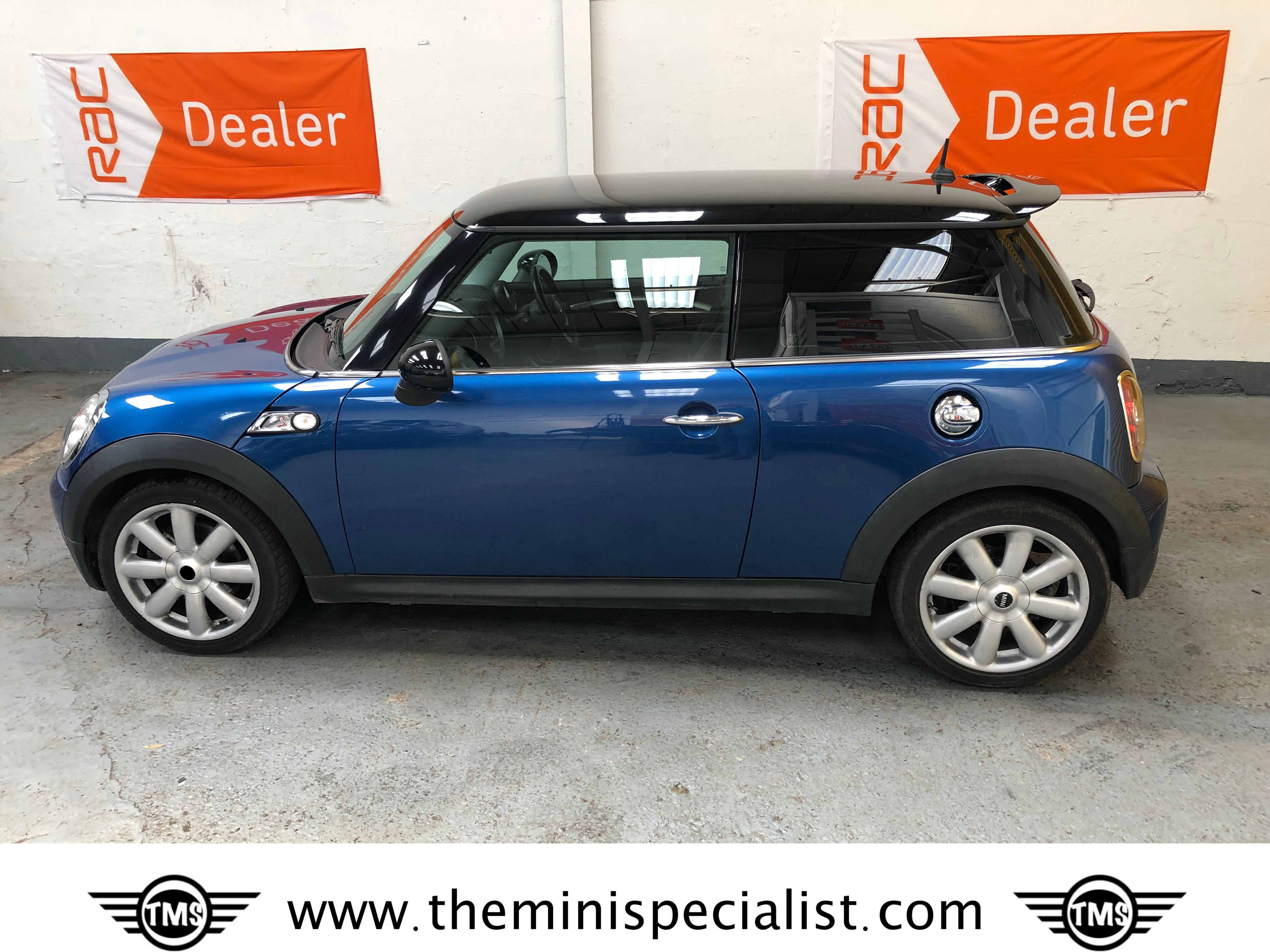 Deposit Taken Mini Cooper S With Chili Pack In Lightning Blue With