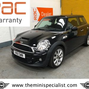 SOLD – 2011 Mini Cooper S with £2960 worth of extras – SOLD