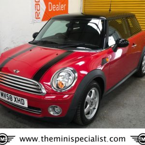 SOLD – 2008 MINI 1.4 ONE in Chili Red with Pepper Pack – SOLD