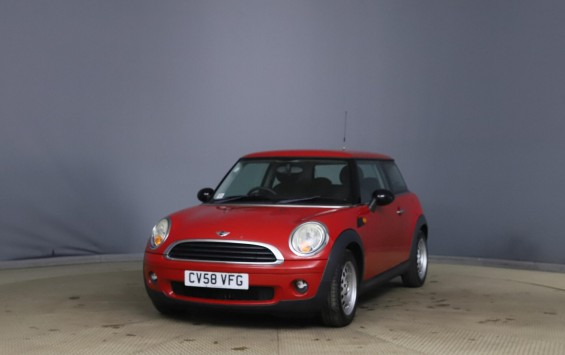 IN PREP – 2008 MINI ONE in Chili Red with only 48k miles from new