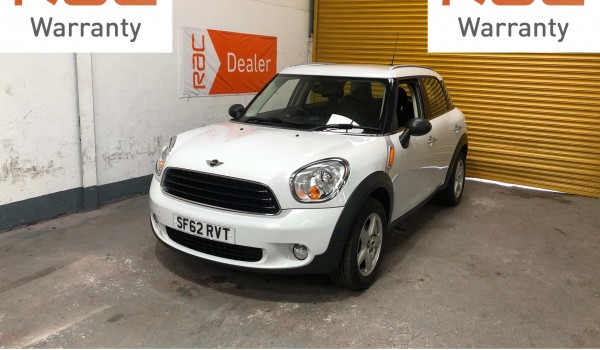 SOLD – 2012 (62) MINI Countryman One – with 53k miles from new – SOLD