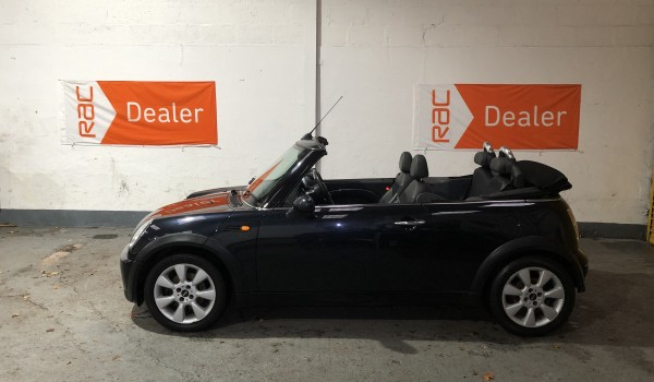 SOLD – 2007 Mini Cooper Convertible For Sale with £2960 of extras – SOLD