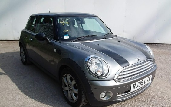 DUE IN – 2009 MINI Cooper Graphite Special Edition