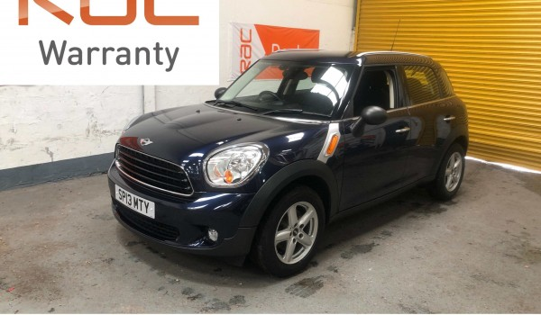 SOLD – 2013 (13) MINI Countryman One – with 33k miles from new – SOLD