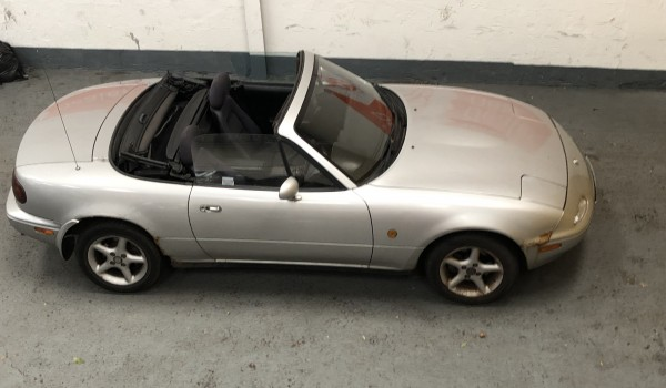 SOLD – Mazda MX5 – ebay no reserve auction – SOLD