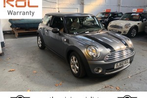 2010 MINI One 1.6 Graphite with £1,370 worth of extras