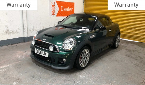 SOLD- 2011 Mini John Cooper Works Coupe with 40k miles and and £5235 worth of extras – SOLD