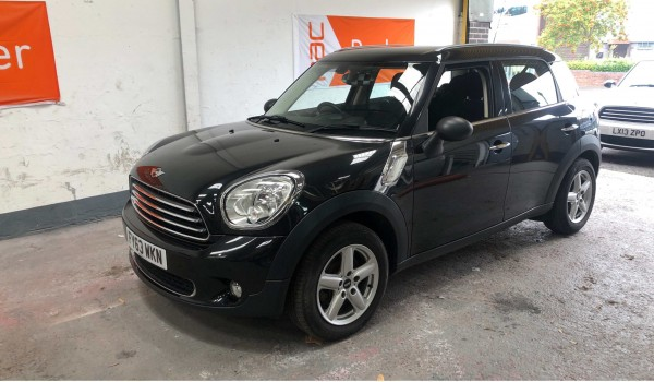SOLD – 2013 (63) MINI Countryman One – with 64k miles from new – SOLD