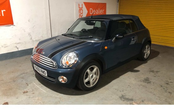SALE AGREED – Mini Cooper Convertible For Sale with £4995 of extras – SALE AGREED