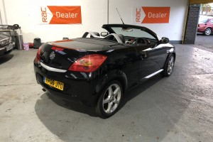 SOLD – Vauxhall Tigra 1.4i 16v Exclusiv with Parrot Bluetooth – SOLD