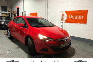 SOLD – Vauxhall Astra GTC for sale – 1.4i Turbo Automatic- SOLD