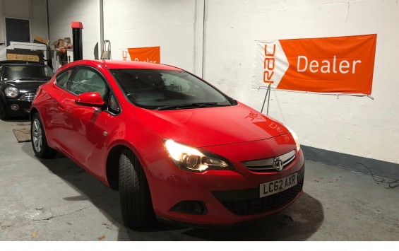 Vauxhall Astra GTC for sale – 1.4i Turbo Automatic