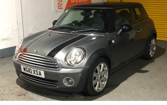 SOLD – 2010 MINI Cooper Graphite Special Edition with £5200 of Extras – SOLD
