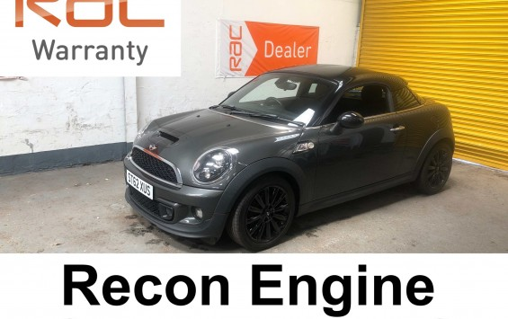 2012 Mini Coupe SD with a recon engine and £3290 worth of extras