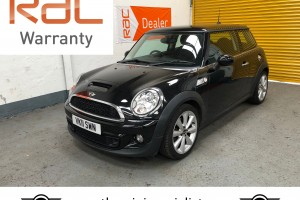 2011 Mini Cooper S with £2960 worth of extras