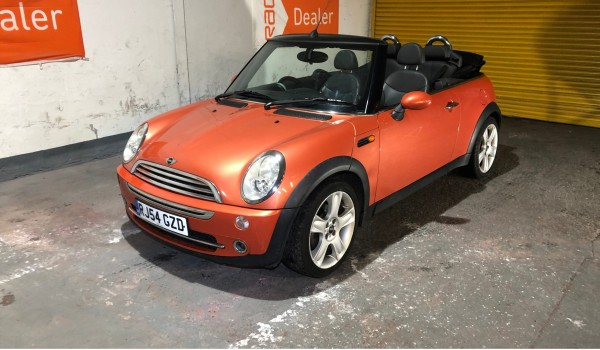 SOLD – 2004 Mini Convertible For Sale – Cooper with Heated Leather Seats – SOLD