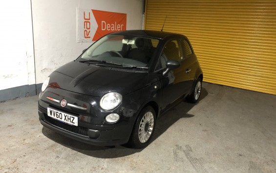 2010 Fiat 500 for sale – Full Service History & 12m MOT – Finance Available