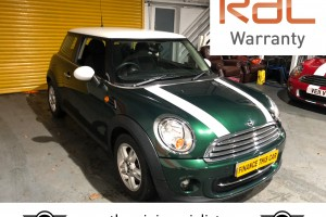 Mini Cooper with only 37500 miles since new