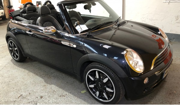 SOLD – Mini One Sidewalk Convertible – SOLD