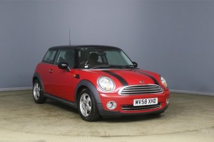 DUE IN – 2008 MINI 1.4 ONE in Chili Red with Pepper Pack