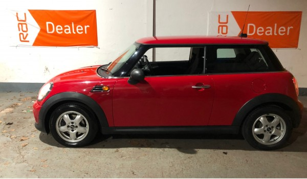 2011 MINI ONE in Chili Red with Pepper Pack